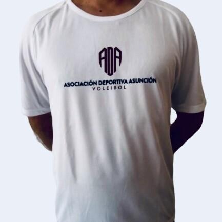 Camiseta oficial de entrenamiento ADA COLOR BLANCO