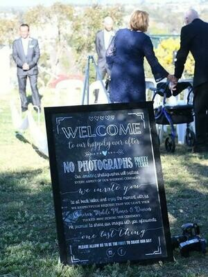 Unplugged Wedding Sign - Downloadable