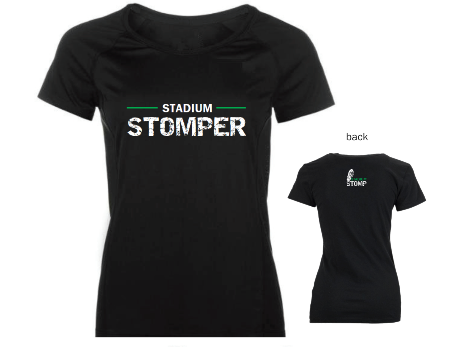 "LARGE - Women's ""Stadium Stomper"" Tee"
