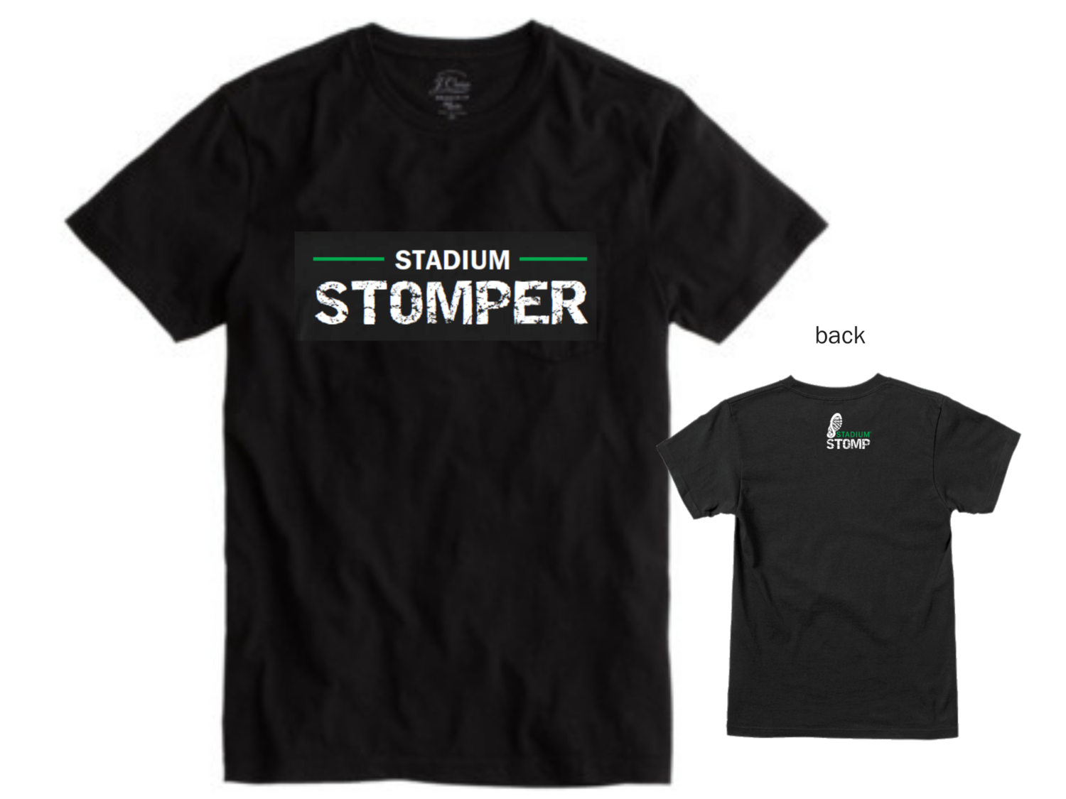 "LARGE - Men's ""Stadium Stomper"" Tee"
