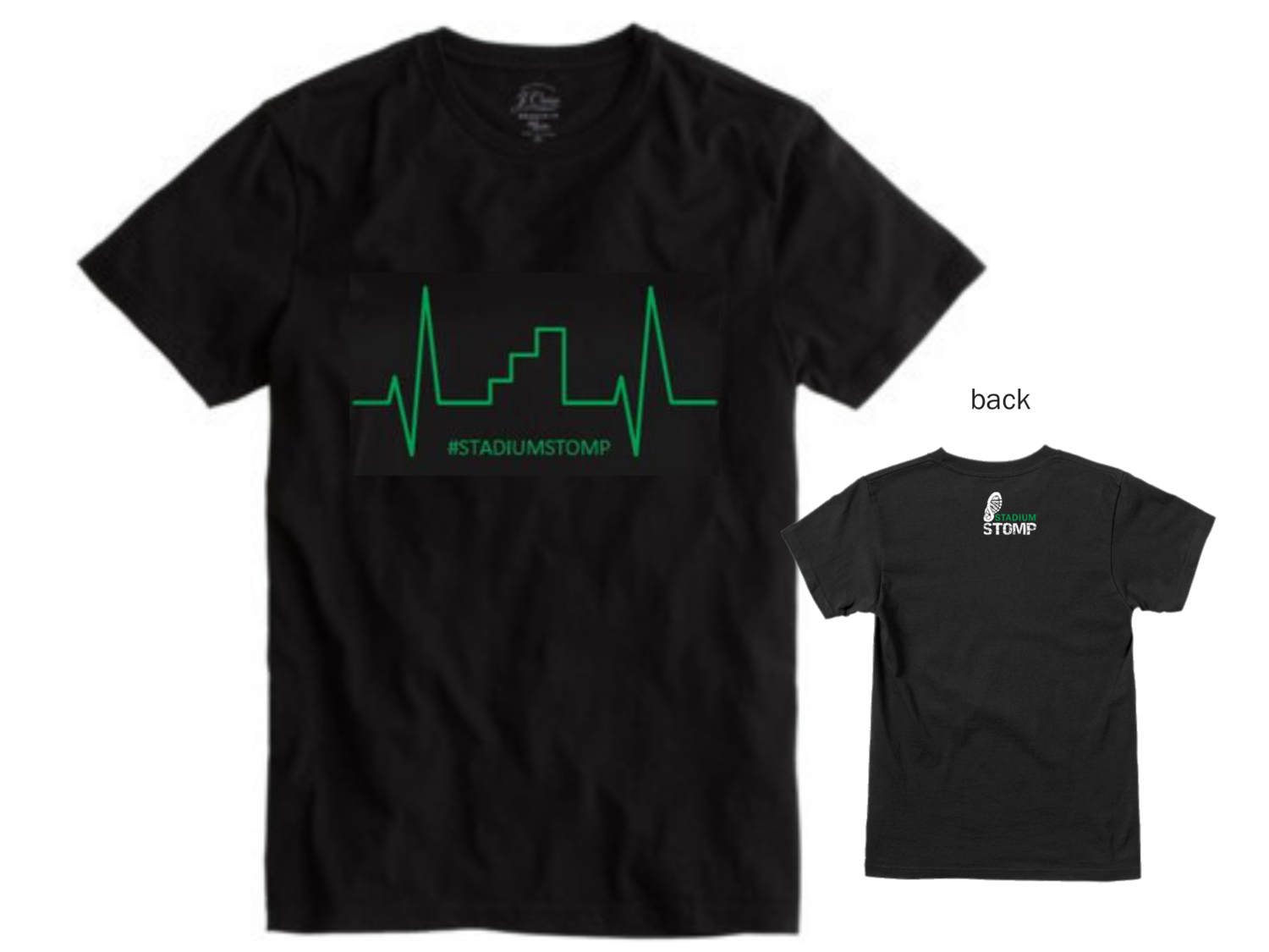 X LARGE - Men's Heart Beat t-shirt