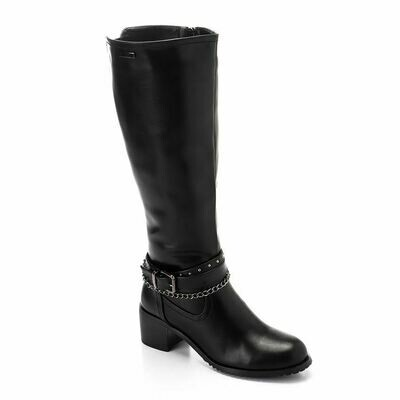 3294High Boot - Black