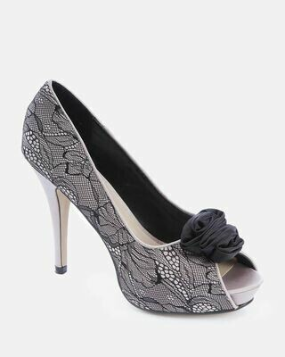 3537 Strass Pumps - Champange