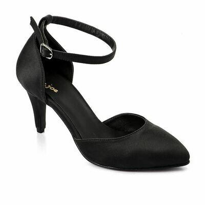 3342 Shoes - Black satan