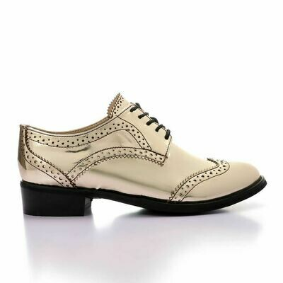 3367 Shoes - Gold