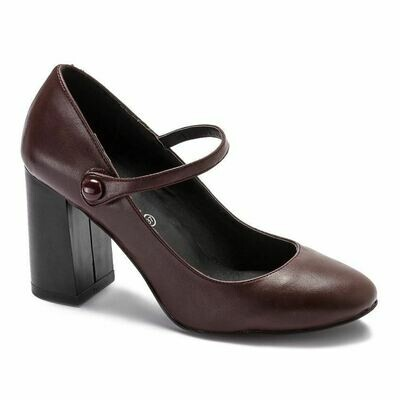 3198 Shoes - Burgundy