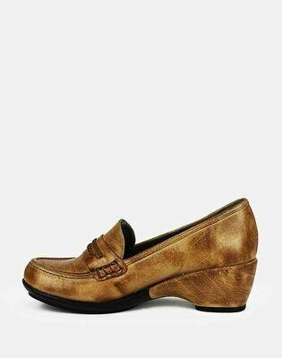 3559 Nature Leather Shoes-Havan