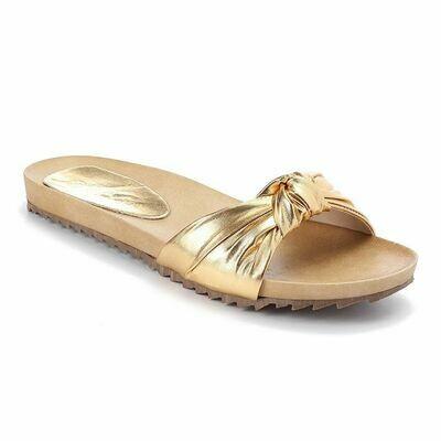 3241 Slipper -  Gold