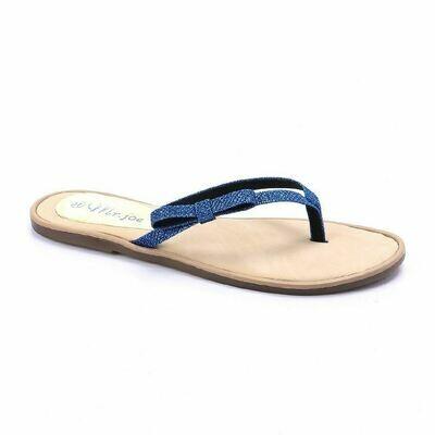 3243 Slipper - Blue