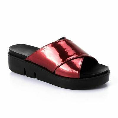 3301 Slipper - Red