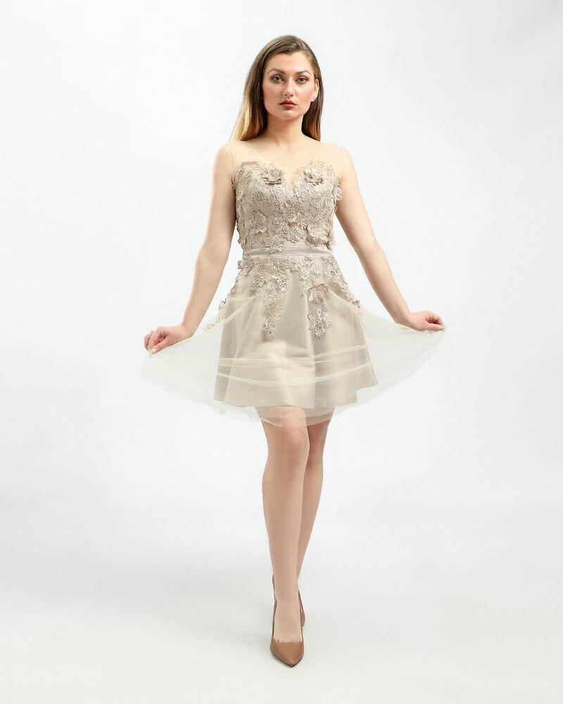 8410 Soiree Dress - Begie