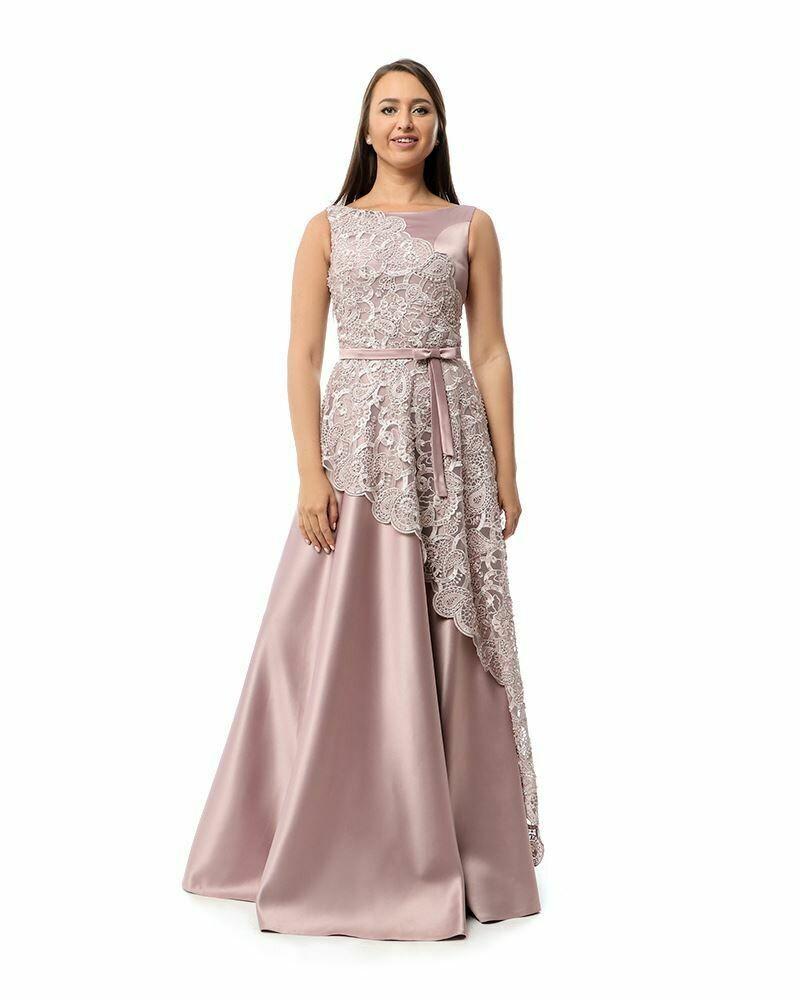 8431Soiree Dress - Cashmer