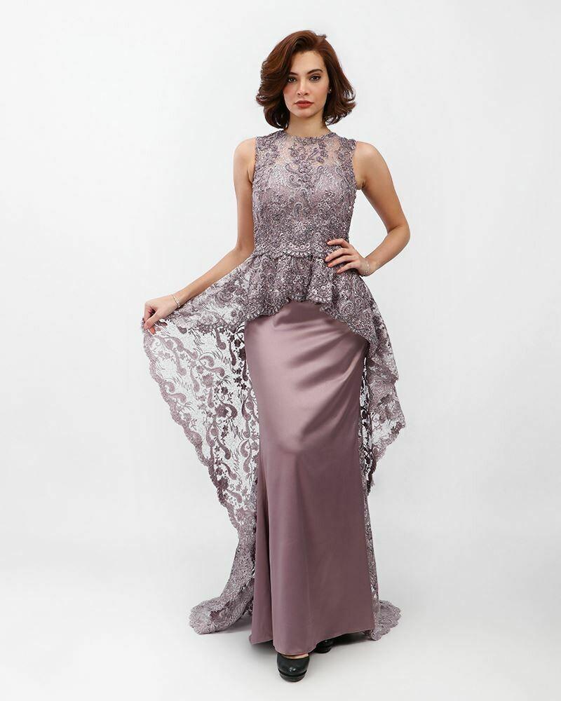 8388 Soiree Dress - Cashmer