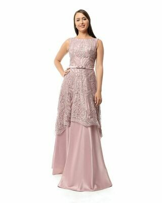 8424Soiree Dress - Cashmer
