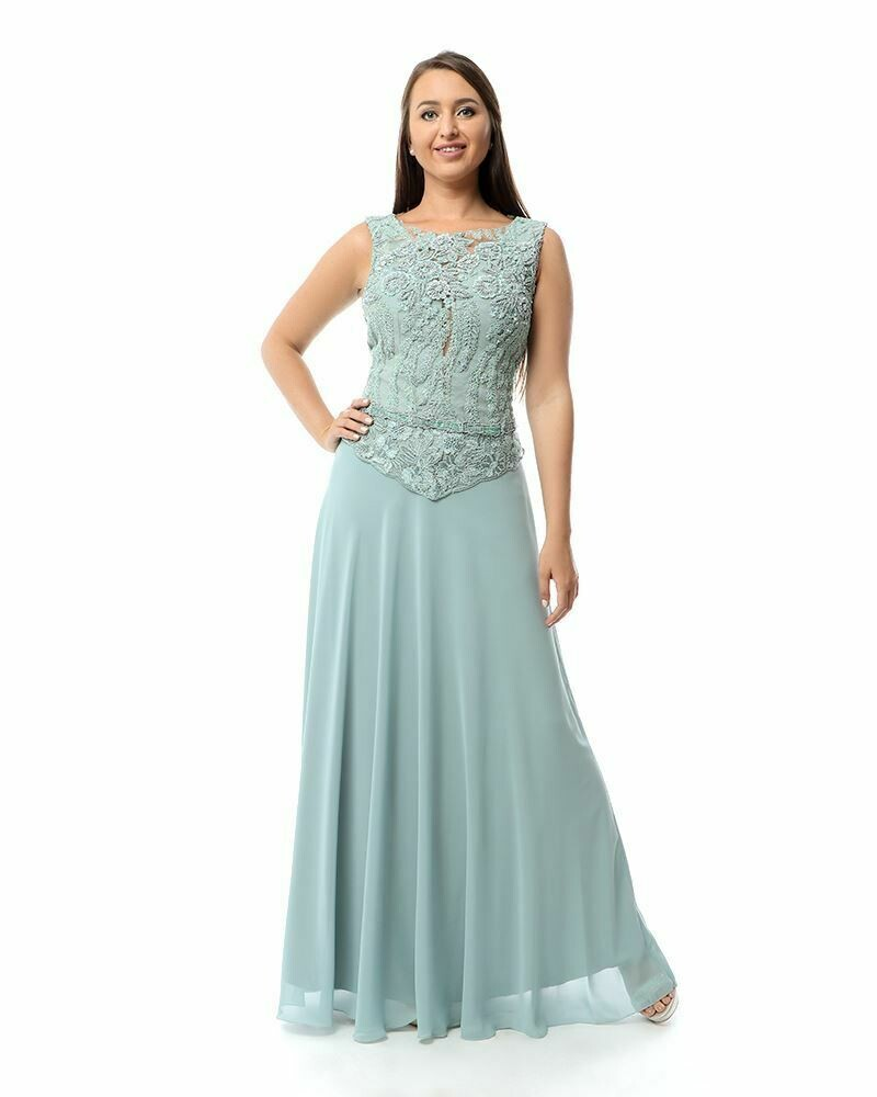 8428 Soiree Dress - Baby blue