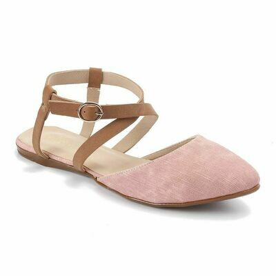 3238  Ballet Flat Shoes - Rose