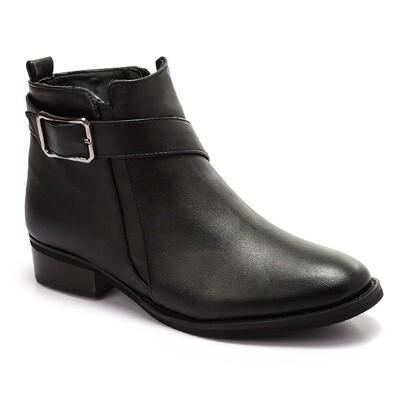 3305 -half boot - Black