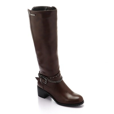 3294 - High Boot - Brown