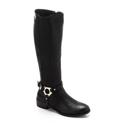 3296 - High Boot - Black