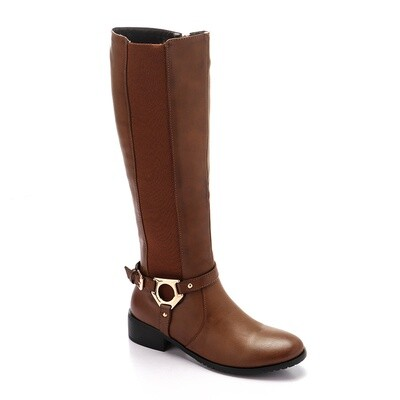 3296 - High Boot - L.Brown