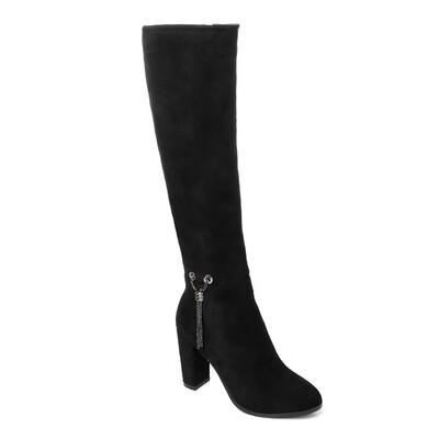 3299 -  High Boot - Black