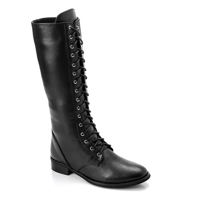 3316 -  High Boot - Black