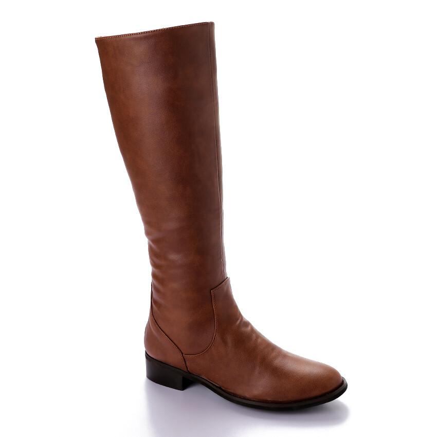 3409 -Leathe Boot - Havan