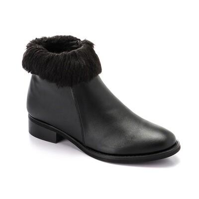 3312-half Boot- black