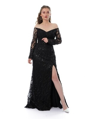 8442 Soiree Dress - Black