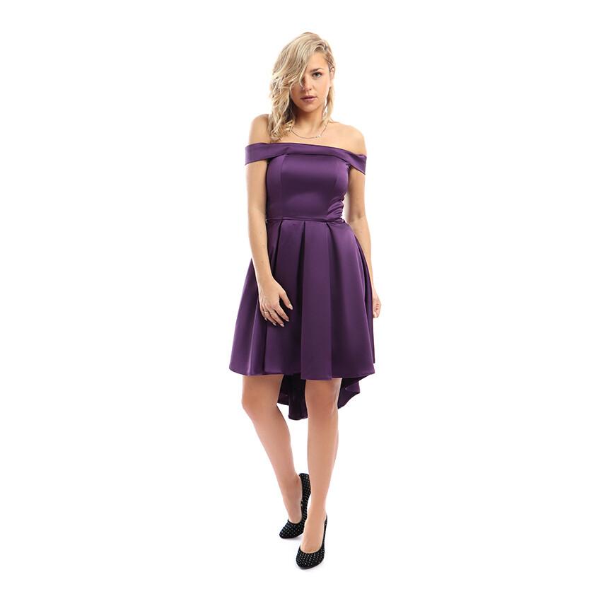 8304Soiree Dress - Purple