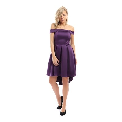 8304Soiree Dress - Purple