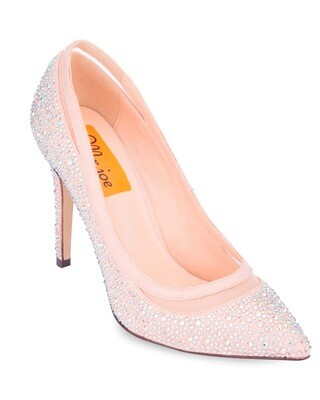 3711 Open Toe Heeled  - Champagne