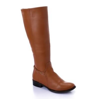 3419 Leathe Boot havan