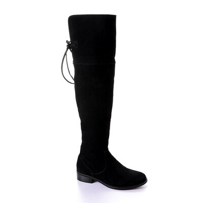 3411 High Boot  - Black su