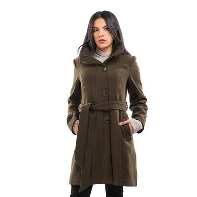 8194 Coat - Dark Green