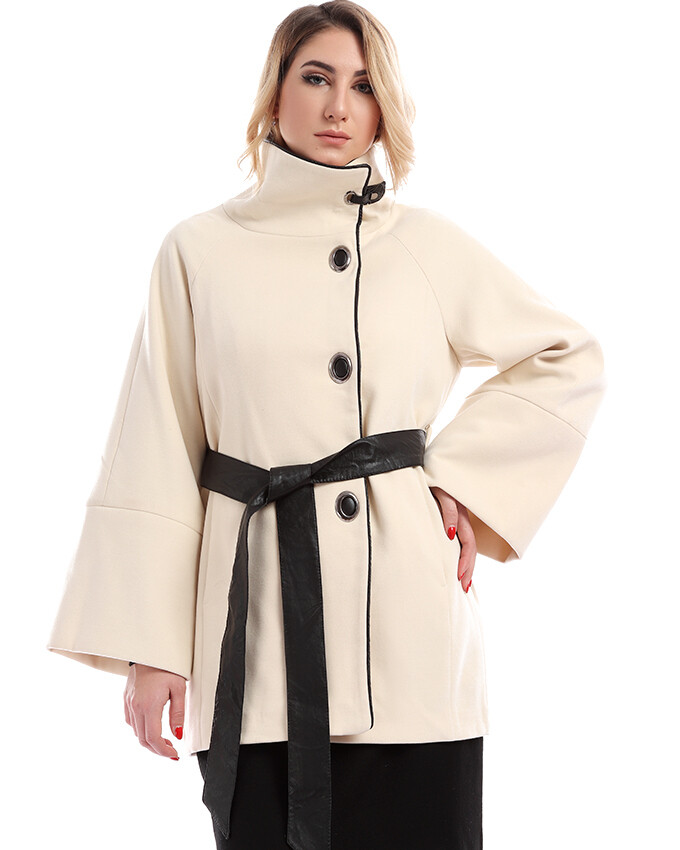 8201 Coat - Ofwhite