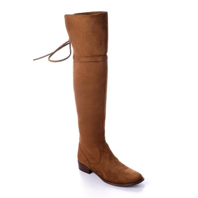 3411 Knee High Boot -Brown su