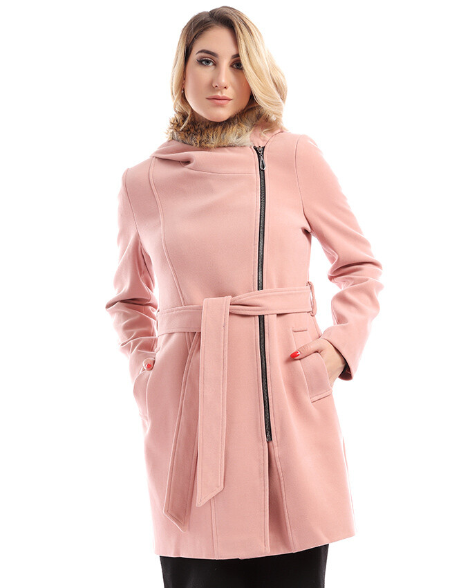 8200 Coat - Rose
