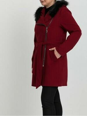 8200 Coat - Red