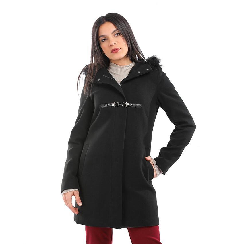 8198 Coat - Black