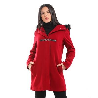 8198 Coat - Burgundy