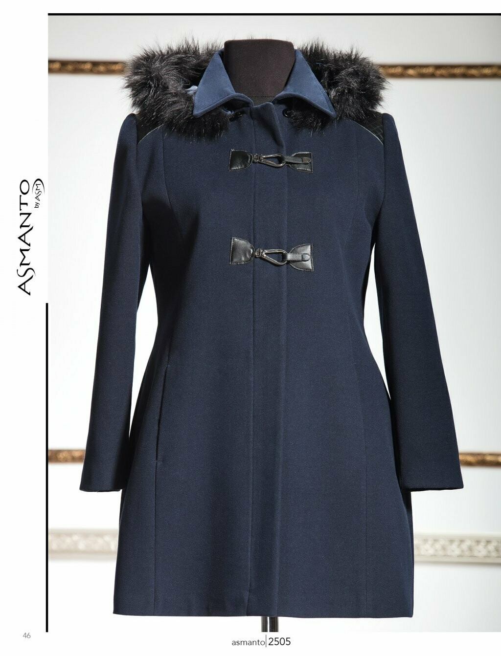 8199 Coat -Black
