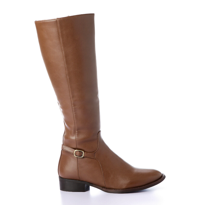 3327 -Leather Ankle Boot - Brown