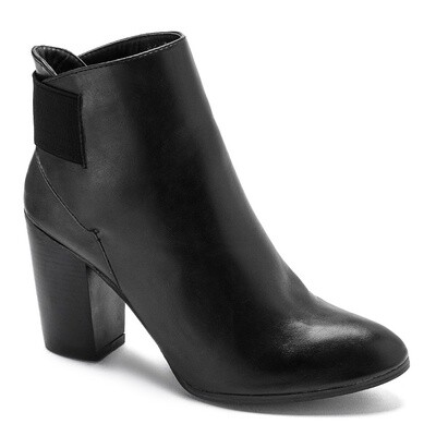 3207 Half Boot - Black