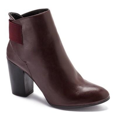 3207 Half Boot - Burgundy
