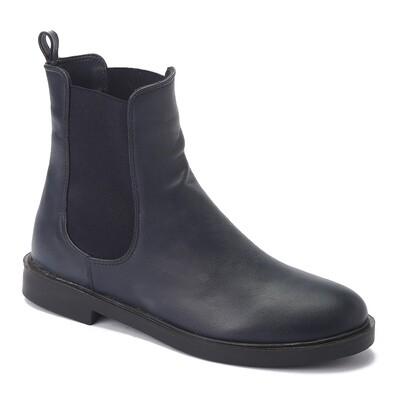 3222 Half boot Navy