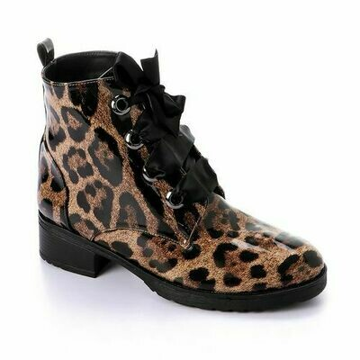 3421- Half Boot - tiger