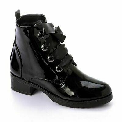 3421 Half Boot - Black V