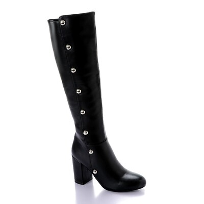 3286 High Boot - Black