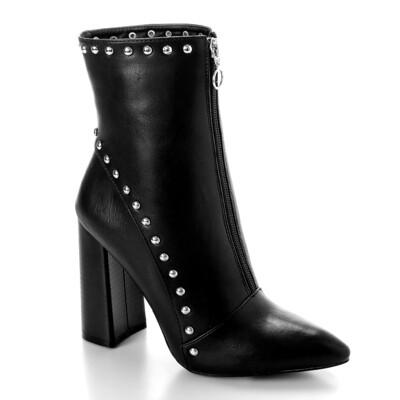 3290 Half Boot -Black